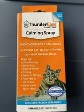 ThunderEase Calming Spray for Cats pheromones relieves stress 60 ML