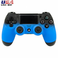 Shadow Lake Blue Front Housing Shell Case Cover for Dualshock 4 PS4 Controller