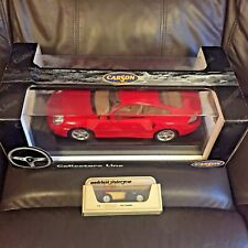 LARGE RED PORSCHE MADE BY CARSON ( 30 CMS LONG ) 1.12 SCALE ?