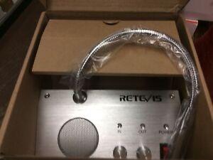 RT9908 Window Speaker System,Intercom System for Bank/Counter/Store/Restaurant