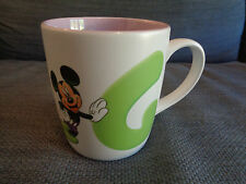 WALT DISNEY Disneyland Paris Mickey Mouse A alla Z alfabeto lettera G TAZZA Ragazze