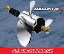 Ballistic XHS 13 1/2 x 22XL 953422 Stainless Steel Prop For Suzuki 60 - 140HP