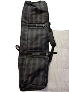 Padded Snowboard Bag Wheels Unistrength Waterproof Snow Sport Equipment Ski