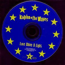 KATRINA & THE WAVES Love Shine A Light EUROVISION CD ep