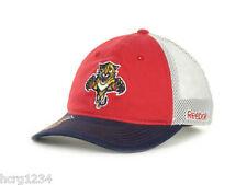 Florida Panthers Reebok NHL Hockey Center Ice Flex Meshback Cap Hat   S/M & L/XL
