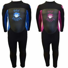 MADMONKEY KIDS CHILDRENS 3mm FULL LENGTH WETSUIT toddler junior boy girl ref 18