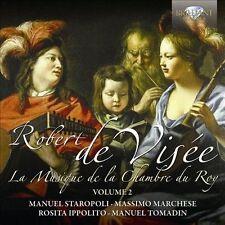 De Visee: La musique de la chambre du roy, Vol. 2, New Music