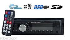 AUTORADIO STEREO AUTO LCD RADIO TELECOMANDO SLOT SD CARD MMC USB AUX MP3 307