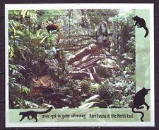 India Mint Miniature Sheet Stamps Rare Fauna 2009