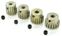 Apex RC Products 48 Pitch 16T 17T 18T 19T Aluminum Pinion Gear Set #9750