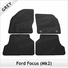 Ford Focus Mk2 2004-2011 Tailored Fitted Carpet Car Floor Mats GREY