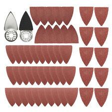 51pcs Sanding Sheets Pads Paper Set For Fein Bosch Oscillating Multitool 35x50mm