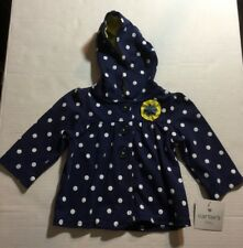 Carter's Baby Girl Jacket Blue/White/Yellow Size 6 months NWT
