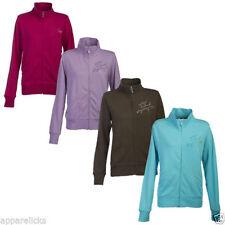 Cotton Blend Plain Hoodies & Sweats for Women