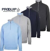 PROQUIP 2019 Mistral 1/4 Zip Jersey Mens Thermal Golf Sweater / Pullover