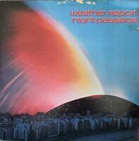 WEATHER REPORT ~ NIGHT PASSAGE ~ 1980 CBS Dutch 8-trk JAZZ ROCK/FUSION VINYL LP