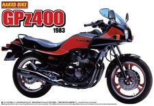 1983 Kawasaki gpz400 vélo moto en 1:12 Model Kit AOSHIMA 047552