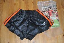 Adidas Shorts Glanz Sprinter Nylon Hose Vintage Sporthose D 3 /schwarz  orang