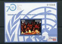 Bhutan 2015 MNH UN United Nations 70 Years Peace Security Developm 1v S/S Stamps