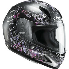 HJC CL-Y Vela Ladies Motorcycle Helmet & Visor Motorbike Full Face Smoked Tint