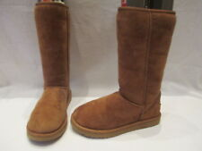 AUTHENTIC UGG AUSTRALIA SAND SUEDE MID CALF PULL ON BOOTS UK 5.5 EU 38  (1160)