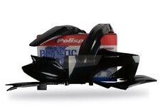 Honda Plastic Kit CR 125 / 250 2004 - 2007 Black 90192 Motocross Polisport MX