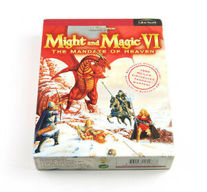 Might and Magic VI 6 - The Mandate of Heaven - PC CD-ROM - Deutsch - Big Box