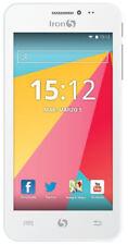 Iron 5 Fire smartphone 4.5 pulgadas 1 GB RAM 8GB interno blanco #1190