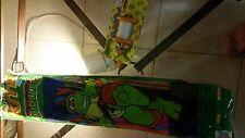 TMNT 1989 Spectra Star Kite & Wacky Winders TMNT kite spool  - NEW SEALED !!!!!!