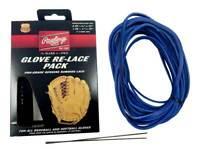 Rawlings Glove Re-Lace Pack, Pro-Grade Kit for Baseball & Softball LACEPK Blue