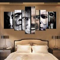 Horror Movie 5 Pieces Canvas Wall Art Poster Print Home Decor