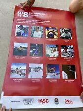(4) 2017 Skateboarding Hall of Fame Print Posters, Thrasher Jim Phillips McGill