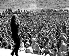 "Miss Ann Margret Singing for US Service Men Danang 8""x 10"" Vietnam War Photo 300"