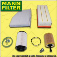 SERVICE KIT SKODA OCTAVIA 1Z 1.9 TDI MANN OIL AIR FUEL CABIN FILTERS M+H (04-06)