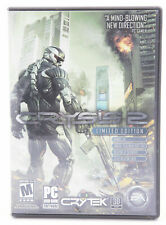 Crysis 2 PC 2011 Limited Edition Bonus XP Tag Weapon Attachment Scar Skin CIB