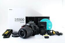 Shutter count 1 !! Nikon D5100 camera w/ AF-S  18-55 VR [Near Mint] #333A 514