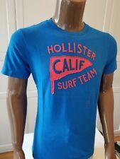 NWT Hollister Hco Men's Calif Surf team Tee T-shirt L Blue