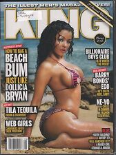 King July / August 2008 Cover 2 of 2 Dollicia Bryan, Tila Tequila VG 021216DBE