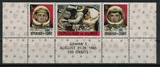 GUINEA:1965 SC#382,383,387(3) MNH - Achievements in Space