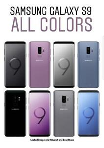 New Samsung Galaxy S9 G960U Total Boost Verizon ATT Tmobile Straight Talk Crickt