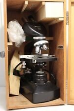 Vintage Vintage MICROPERE Microscope. #6094 w/ Wooden Box Made in Japan