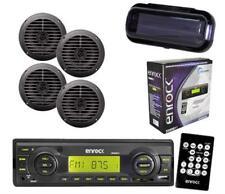 AM/FM MP3 Enrock Radio SD Card Function USB AUX 4 x 5.25