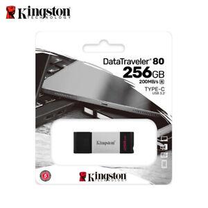 Kingston DT80 256Go USB 3.2 Gen 1 Lecteurs flash USB Stockage USB OTG Type-C