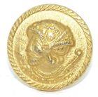 Vintage knob or furniture decoration brass roman soldier (FH267)