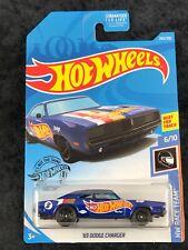 Hot Wheels 2020 HW Race Team Blue '69 Dodge Charger