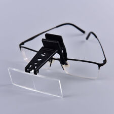 Clip-on Eye Glasses Binocular Magnifier Eyeglasses With 3 Lens 1.5X,2.5X,3.5XEV