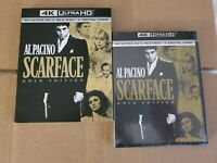 LIKE NEW!! - Scarface Gold Edition: w/Slipcover (4K Ultra HD & Blu-ray) No Code