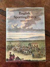 English Sporting Prints  James Laver  1970 1st ed signed by author  NF/NF w/