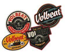 VOLBEAT - 4er Aufnäher-Set Patch-Set