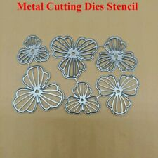 Blumen Blätter Stanzschablone Cutting dies Metal Stanzform Scrapbooking Big Shot